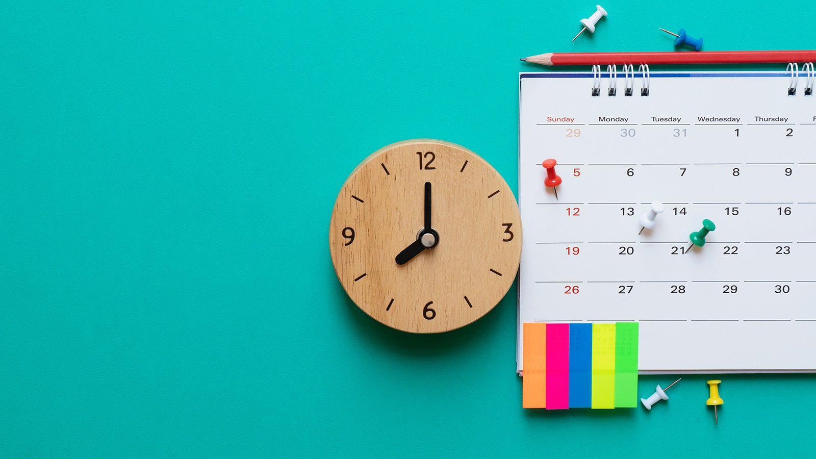5 Scheduling Tips for Busy People